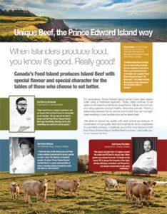 Canada's Food Island Info Sheet